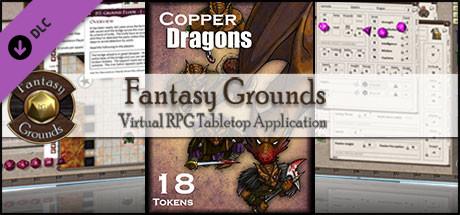 Fantasy Grounds - Copper Dragons (Token Pack)