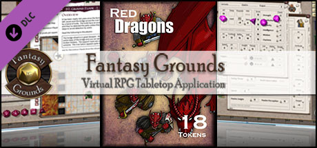 Fantasy Grounds - Red Dragons (Token Pack)