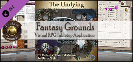 Fantasy Grounds - The Undying (Token Pack)