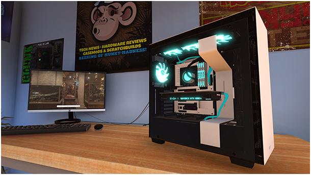 , PC Building Simulator, P2Gamer