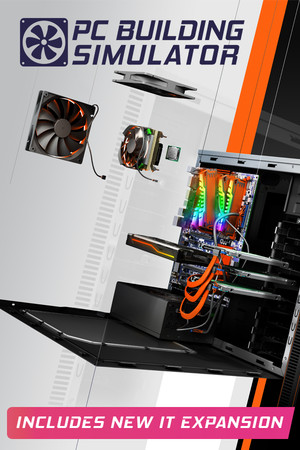 PC Building Simulator poster image on Steam Backlog