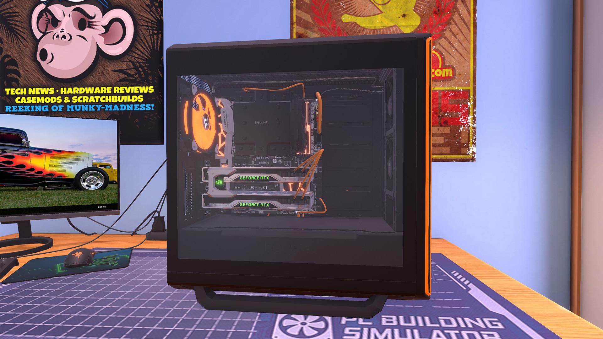 pc building simulator download size
