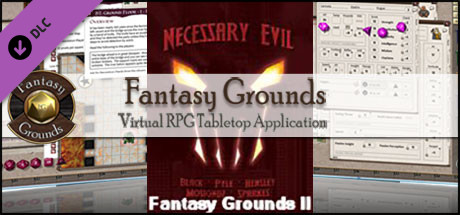 Fantasy Grounds - Setting: Necessary Evil (Savage Worlds)