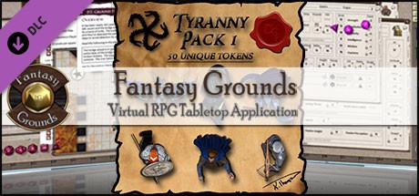 Fantasy Grounds - Ddraig Goch's Tyranny 1 (Token Pack)