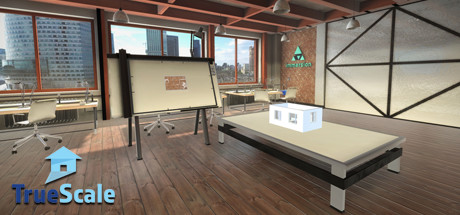 TrueScale is a groundbreaking interior design tool that can simultaneously create 2D floor plans 3D mockups and full room-scale environments in VR. & TrueScale on Steam