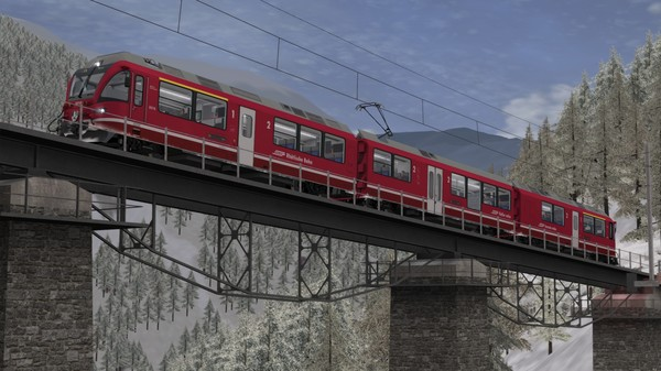 скриншот Train Simulator: Arosa Line Route Add-On 3