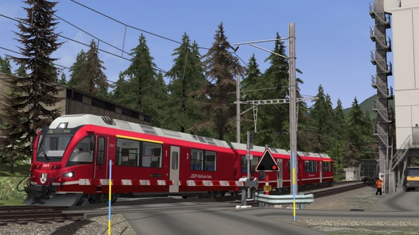 скриншот Train Simulator: Arosa Line Route Add-On 5
