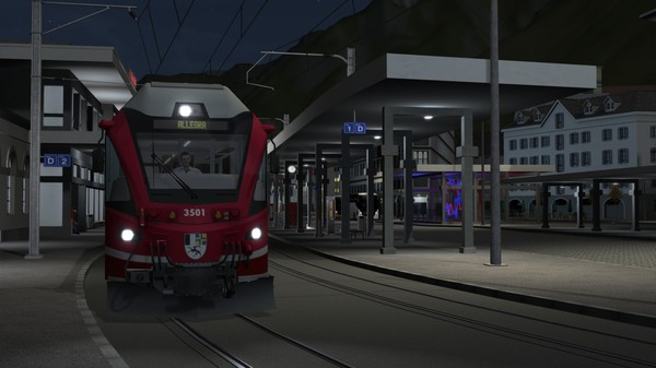 скриншот Train Simulator: Arosa Line Route Add-On 4