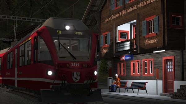 скриншот Train Simulator: Arosa Line Route Add-On 2