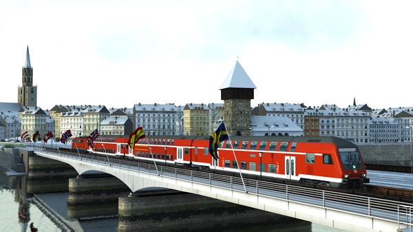 скриншот Train Simulator: Konstanz-Villingen Route Add-On 4