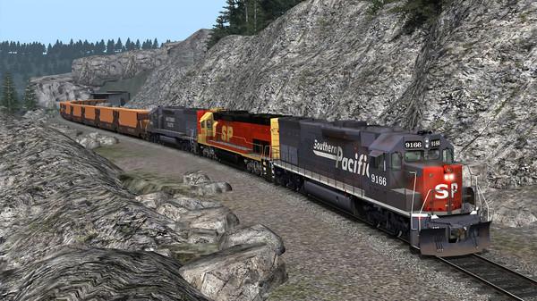 скриншот Train Simulator: Southern Pacific SD45T-2 Loco Add-On 5