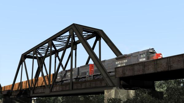 скриншот Train Simulator: Southern Pacific SD45T-2 Loco Add-On 1