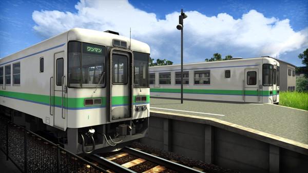 скриншот Train Simulator: Hidaka Main Line: Tomakomai - Hidaka-Mombetsu Route Add-On 0