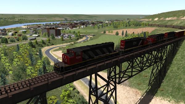 скриншот Train Simulator: Canadian National Peace River Route Add-On 1