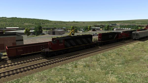 скриншот Train Simulator: Canadian National Peace River Route Add-On 5