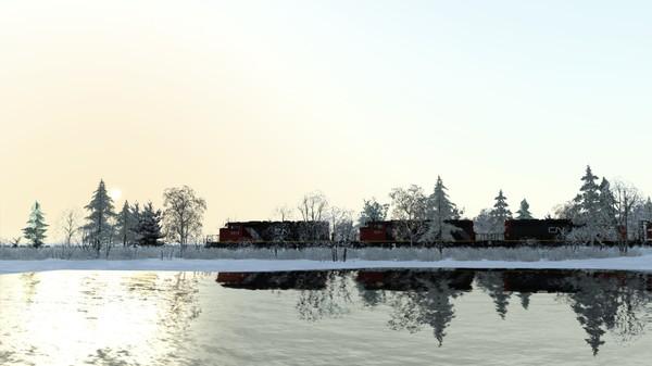 скриншот Train Simulator: Canadian National Peace River Route Add-On 0