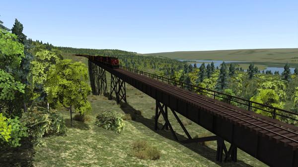 скриншот Train Simulator: Canadian National Peace River Route Add-On 4