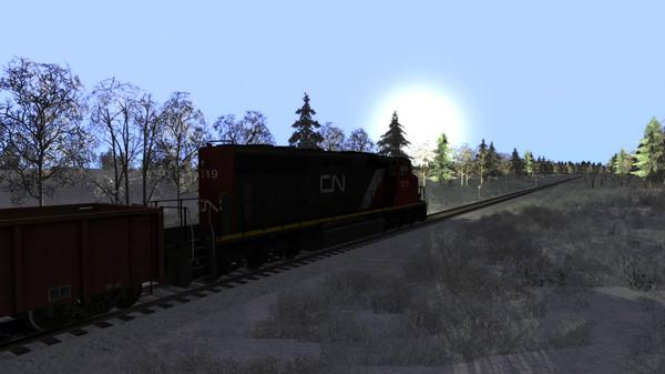 скриншот Train Simulator: Canadian National Peace River Route Add-On 2