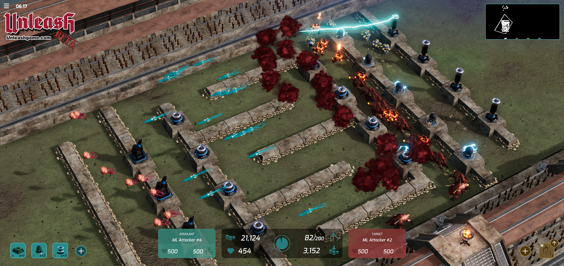 Unleash - a multiplayer Tower Defense game inspired by Warcraft 3
