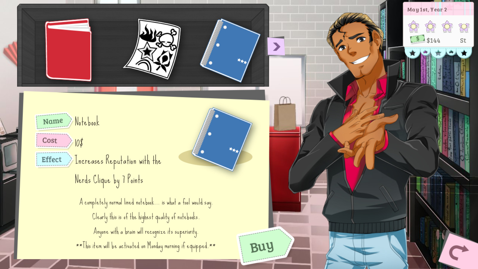 Dating Sims DS Englanti