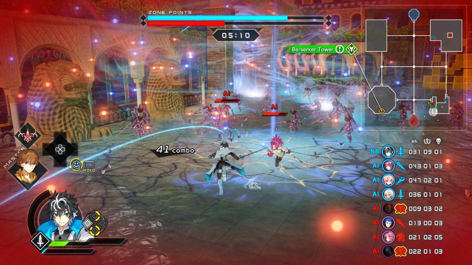 Fate/Extella Link Screenshot 1