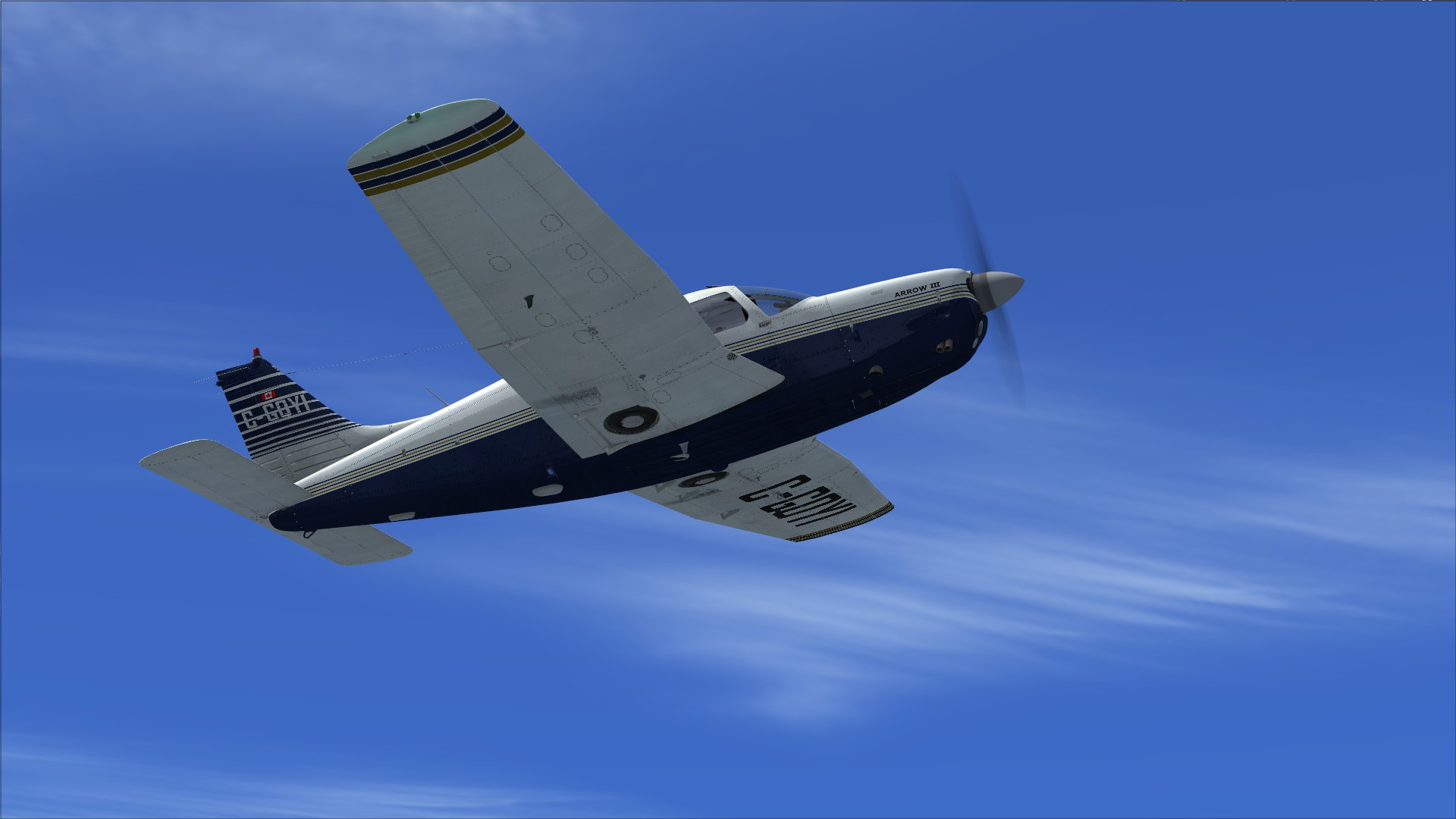 FSX Steam Edition: Piper PA-28R Arrow III Add-On