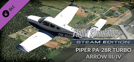 FSX Steam Edition: Piper PA-28R Turbo Arrow III/IV Add-On