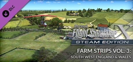 FSX Steam Edition: Farm Strips Vol 3: South West England & Wales Add-On