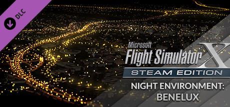 FSX Steam Edition: Night Environment Benelux Add-On