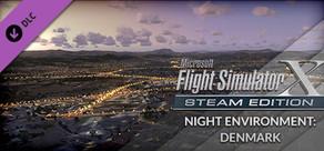 FSX Steam Edition: Night Environment Denmark Add-On