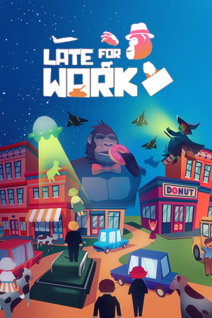 Late For Work poster image on Steam Backlog