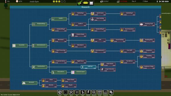Screenshot of Rec Center Tycoon
