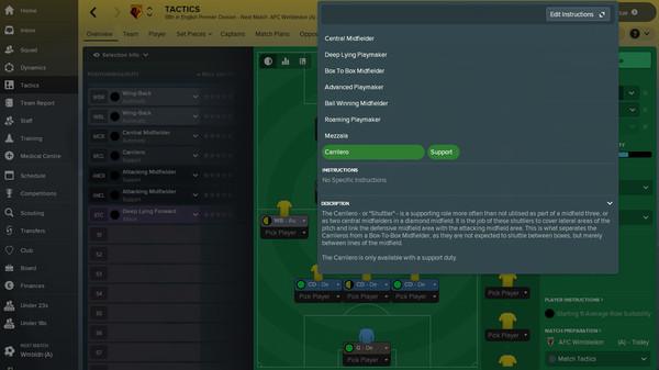 Football Manager 2018 screenshots