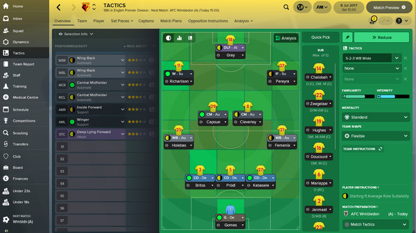 скриншот Football Manager 2018 4