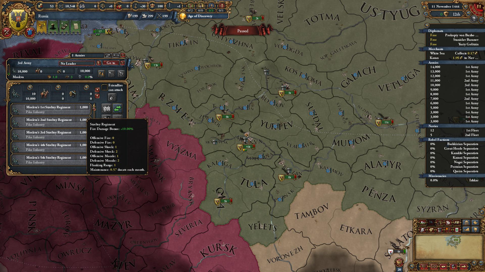 Europa Universalis IV: Third Rome Screenshot 2