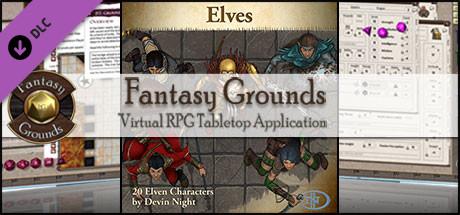 Fantasy Grounds - Elves (Token Pack)