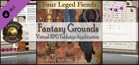 Fantasy Grounds - Four-Legged Fiends (Token Pack)