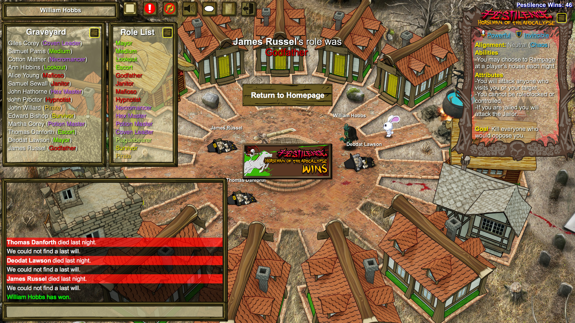 Town Of Salem The Coven On Steam
