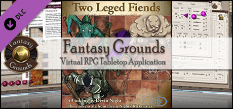 Fantasy Grounds - Two-Legged Fiends (Token Pack)