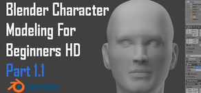 Blender Character Modeling For Beginners HD