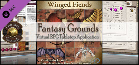 Fantasy Grounds - Winged Fiends (Token Pack)