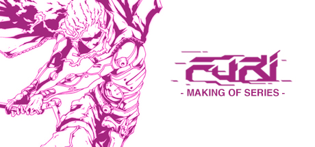 Making of Furi cover art