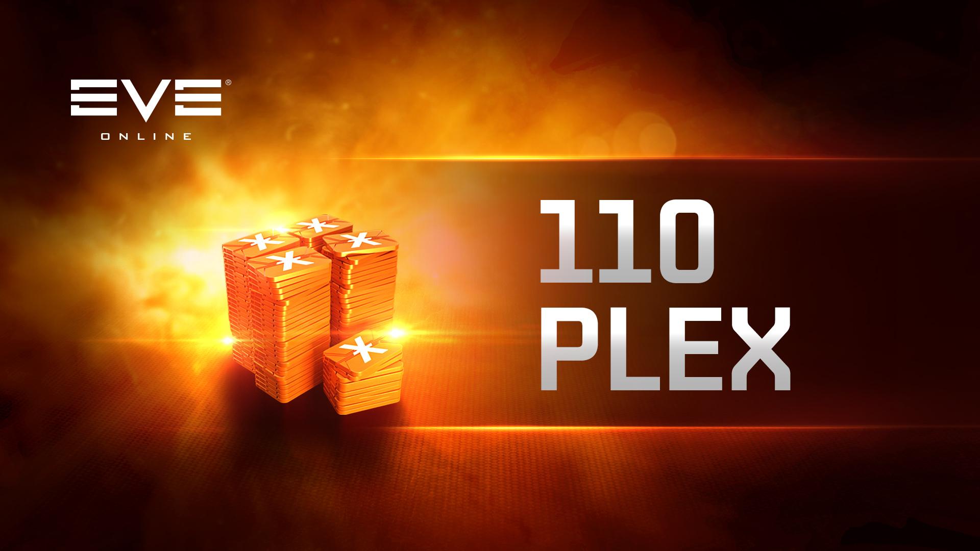 EVE Online: 110 PLEX
