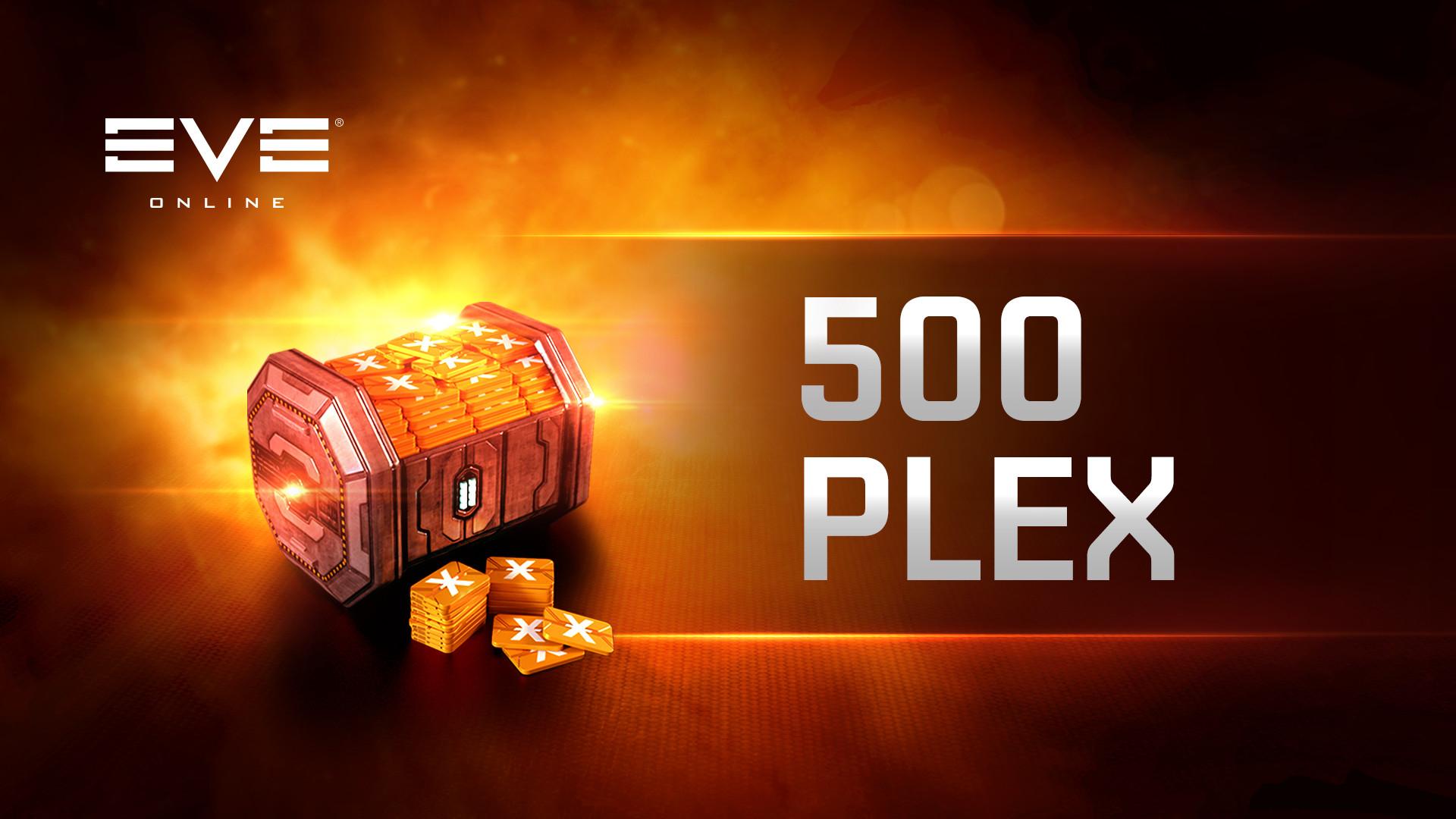 EVE Online: 500 PLEX