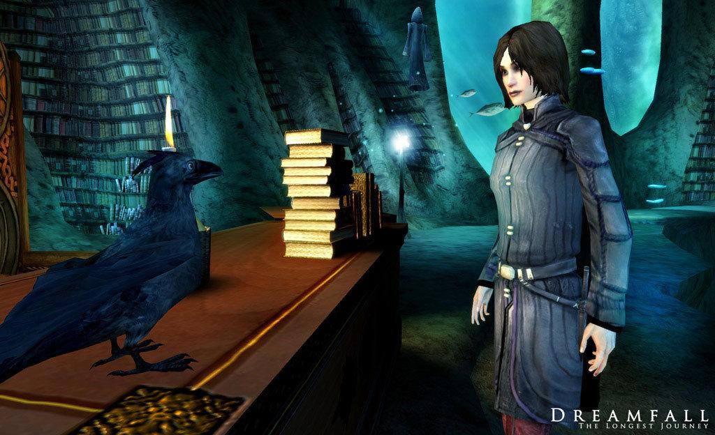 Dreamfall: The Longest Journey screenshot 2