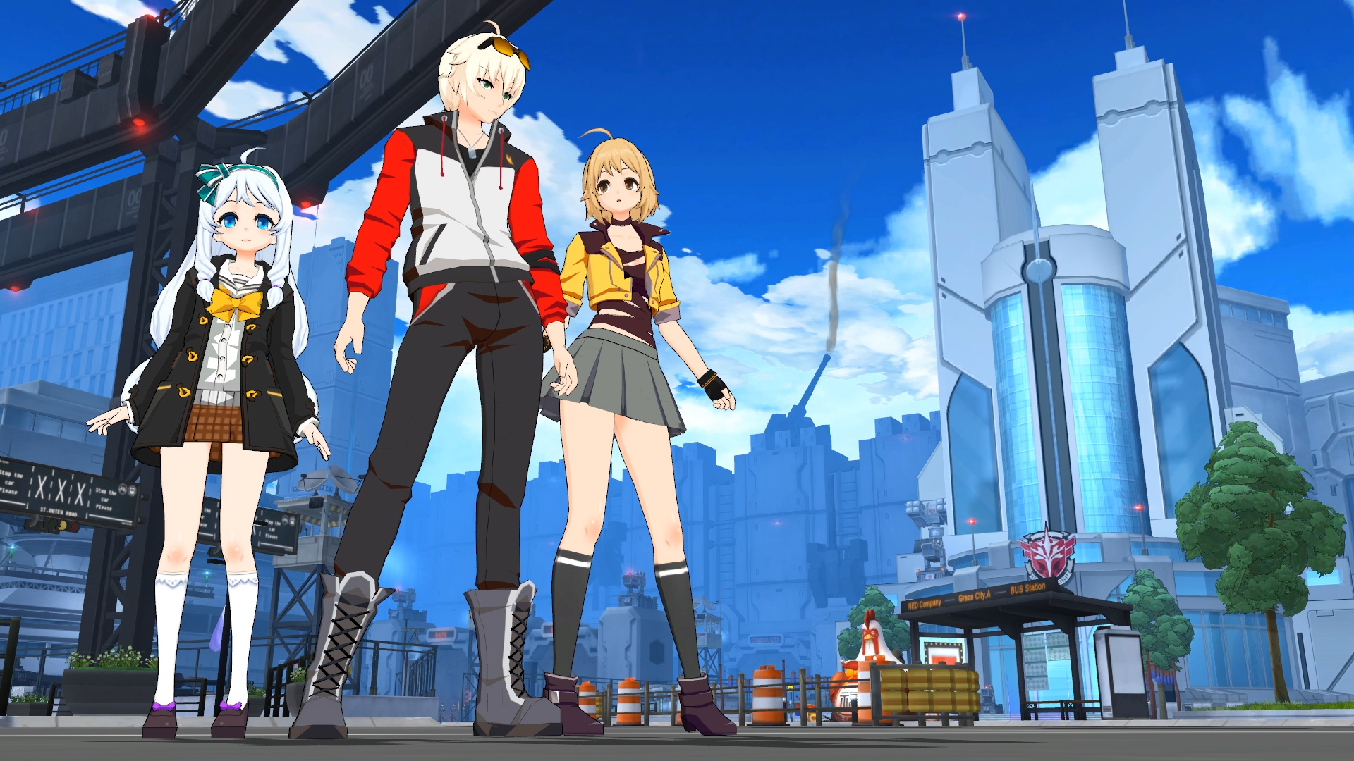 Soulworker Anime Action Mmo On Steam