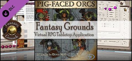 Fantasy Grounds - Pig Faced Orcs (Token Pack)