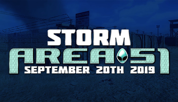 Storm Area 51 September 20th 2019 On Steam