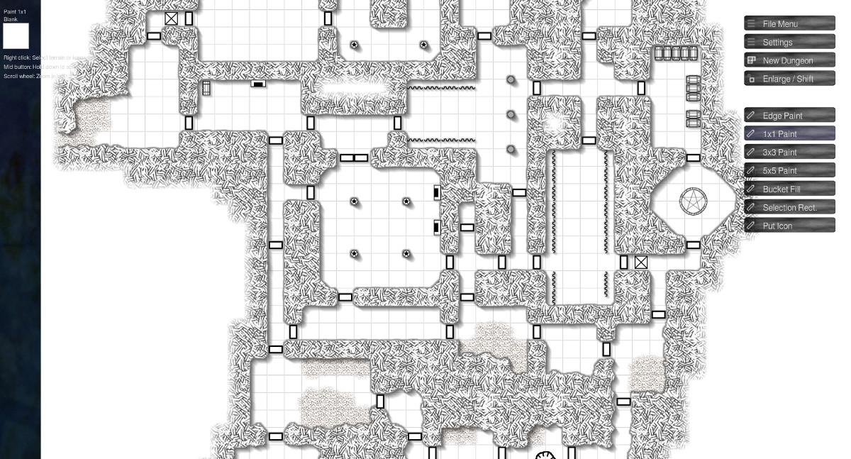 Illwinter's Floorplan Generator on Steam