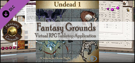 Fantasy Grounds - Undead 1 (Token Pack)
